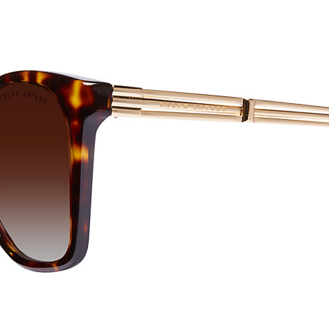 Buy Ralph Lauren RT8113 Cat's Eye Sunglasses Online at johnlewis.com