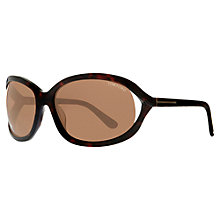 Buy TOM FORD TF0304 Cat's Eye Metal Frame Sunglasses, Pink / Gold Online at johnlewis.com