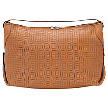 Buy French Connection Lottie Leather Shoulder Handbag, Tan Online at johnlewis.com