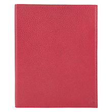 Buy Polo Ralph Lauren Pebble Leather Tablet Case, Red Online at johnlewis.com