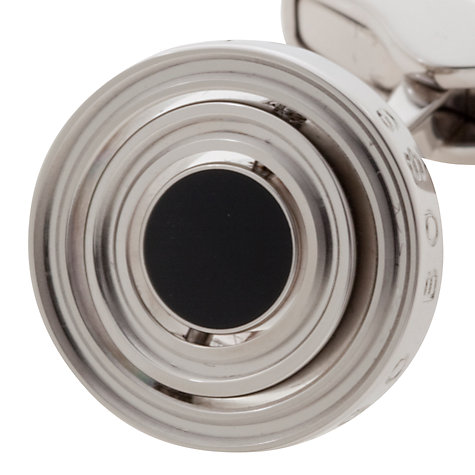 Buy BOSS Pulio Turning Rings Cufflinks, Silver Online at johnlewis.com