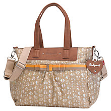Buy Babymel Cara Changing Bag, Beige Petal Online at johnlewis.com