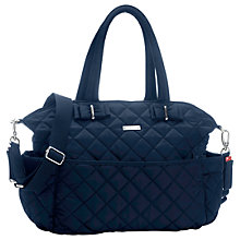 Buy Storksak Bobby Changing Bag, Navy Online at johnlewis.com
