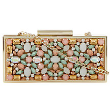 Buy Dune Ecasey Jewelled Embellished Clutch Bag Online at johnlewis.com
