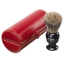Buy Kent Badger Bristle Shaving Brush Online at johnlewis.com