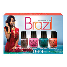 Buy OPI Nails - Nail Lacquer - Brazil Collection, Copacababies Minis, 4 x 3.75ml Online at johnlewis.com