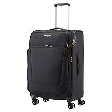Buy Samsonite Spark 4-Wheel 67cm Expandable Medium Suitcase Online at johnlewis.com