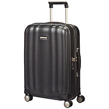 Buy Samsonite Cubelite Spinner 4-Wheel 55cm Cabin Suitcase, Graphite Online at johnlewis.com