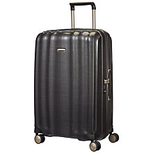 Buy Samsonite Litecube Spinner 4-Wheel 76cm Large Suitcase, Graphite Online at johnlewis.com