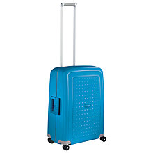 Buy Samsonite S'Cure Spinner 55cm Cabin Suitcase, Pacific Blue Online at johnlewis.com