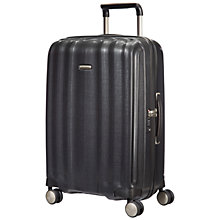 Buy Samsonite Litecube Spinner 4-Wheel 68cm Medium Suitcase, Graphite Online at johnlewis.com
