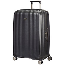 Buy Samsonite Litecube Spinner 4-Wheel 82cm Extra Large Suitcase Online at johnlewis.com
