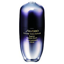 Buy Shiseido Future Solution LX Superior Radiance Serum, 30ml Online at johnlewis.com