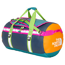 Buy The North Face Base Camp Duffel Bag, Blue/Orange/Pink Online at johnlewis.com