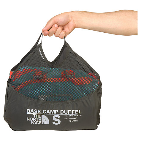 Buy The North Face Base Camp Duffel Bag, Blue/Red Online at johnlewis.com
