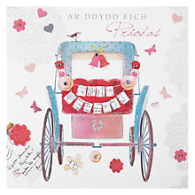 Buy Hammond Gower Wedding Carriage Greeting Card Online at johnlewis.com