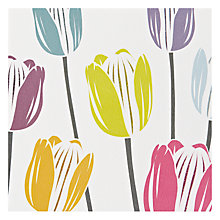 Buy The Art Rooms Tulip Greeting Card Online at johnlewis.com