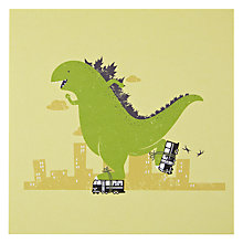 Buy Urban Graphic Roller Skating Greeting Card Online at johnlewis.com
