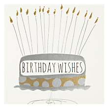 Buy Belly Button Designs Birthday Wishes Birthday Card Online at johnlewis.com