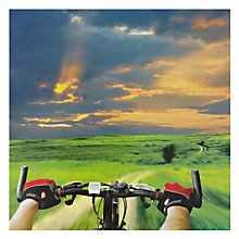 Buy Woodmansterne Cyclist View Greeting Card Online at johnlewis.com