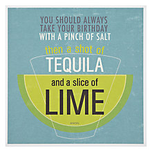 Buy Urban Graphic Salt, Tequila & Lime Greeting Card Online at johnlewis.com