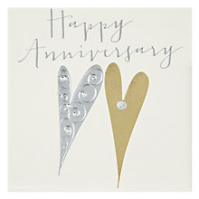 Buy Belly Button Designs Happy Anniversary Card Online at johnlewis.com
