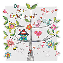 Buy Rachel Ellen Designs Cloud Cuckoo Engagement Card Online at johnlewis.com