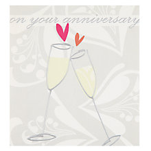 Buy Caroline Gardner On Your Anniversary Card Online at johnlewis.com