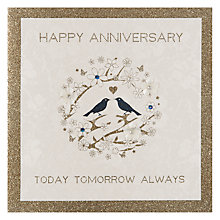 Buy Five Dollar Shake Today, Tomorrow and Always Anniversary Card Online at johnlewis.com