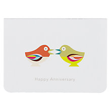 Buy Art File Birds Anniversary Card Online at johnlewis.com