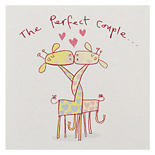Buy Black Olive Perfect Couple Engagement Card Online at johnlewis.com