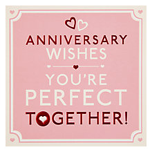 Buy Hotch Potch Wishes Anniversary Card Online at johnlewis.com