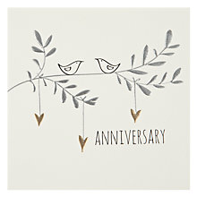 Buy Belly Button Designs Anniversary Card Online at johnlewis.com