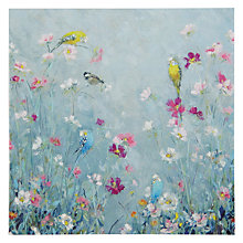 Buy Woodmansterne Birds in a Meadow Greeting Card Online at johnlewis.com
