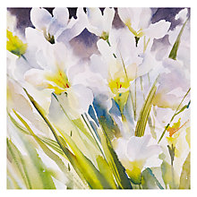 Buy Paperhouse White Flowers Greeting Card Online at johnlewis.com
