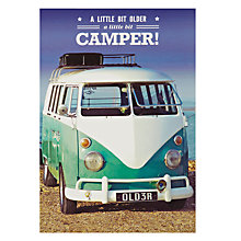 Buy Pigment Camper Van Birthday Card Online at johnlewis.com
