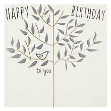 Buy Belly Button Designs Happy Birthday Card Online at johnlewis.com