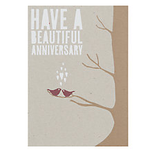 Buy Velvet Olive Have A Beautiful Anniversary Card Online at johnlewis.com