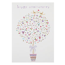 Buy Woodmansterne Wedding Tree With Gifts Greeting Card Online at johnlewis.com