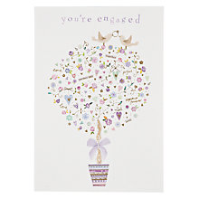 Buy Woodmansterne Wedding Tree With Gifts Anniversary Card Online at johnlewis.com