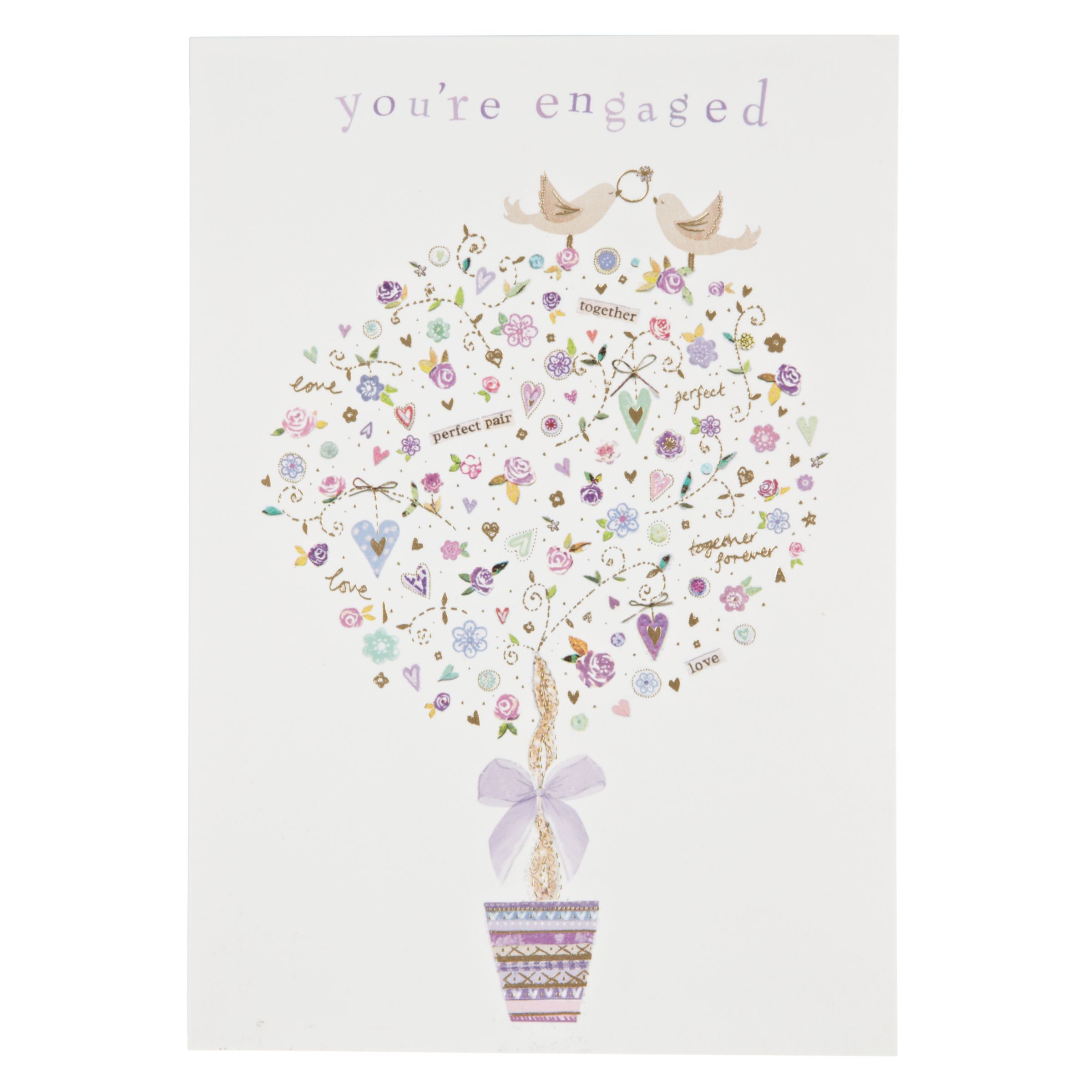 John Lewis Wedding Gift List Delivery : Woodmansterne Wedding Tree With Gifts Anniversary Card at John Lewis ...