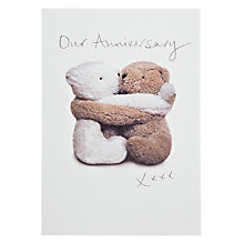 Buy Woodmansterne Inseparable Our Anniversary Card Online at johnlewis.com