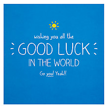 Buy Pigment Good Luck Card Online at johnlewis.com