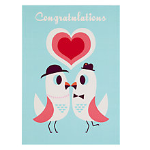 Buy Lagom Designs Congratulations Engagement Card Online at johnlewis.com