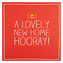 Buy Pigment Lovely Home Greeting Card Online at johnlewis.com