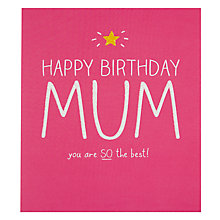 Buy Pigment You're The Best Mum Birthday Card Online at johnlewis.com