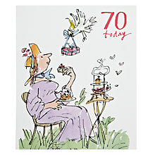 Buy Woodmansterne Two Women 70th Birthday Card Online at johnlewis.com