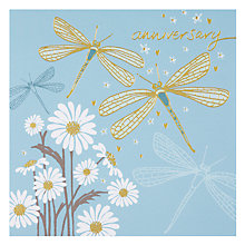 Buy Paperhouse Dragonfly Anniversary Card Online at johnlewis.com