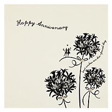 Buy Velvet Olive Happy Anniversary Card Online at johnlewis.com