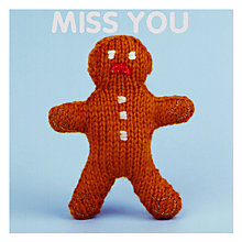 Buy Mint Missing You Leaving Card Online at johnlewis.com